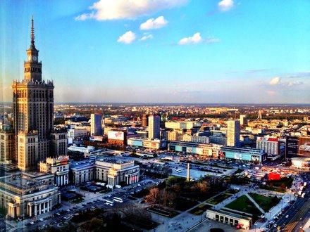 Warschau Stadtreise